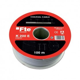 Cable Coaxial Negro 100 m CAB-GOLDN/100