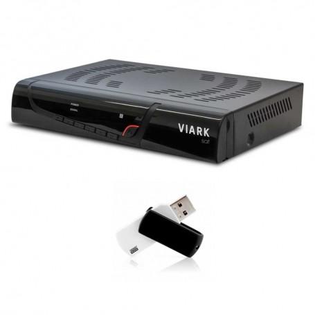 Viark SAT H.265 + PENDRIVE 32GB ACTUALIZACIÓN Y LISTA DE CANALES