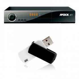 APEBOX X1 + PENDRIVE 32GB ACTUALIZACIÓN