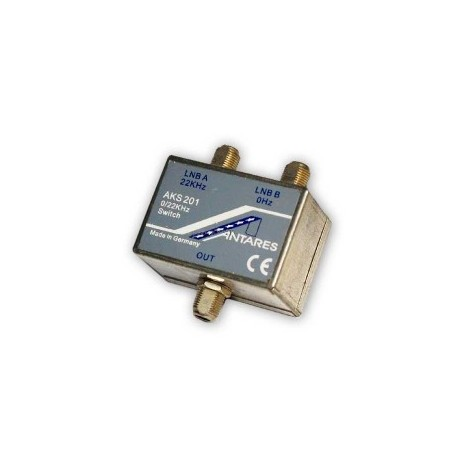 Switch para LNB conector F. 950 - 2.150 MHz.