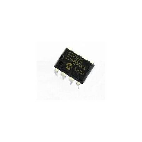 PIC12F683 8-Pin Flash-Based, 8-Bit