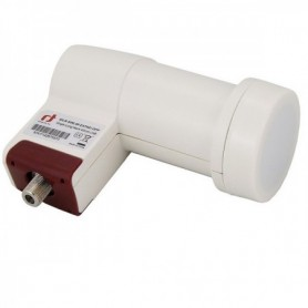 LNB Single (1 Receptor), 55dB, 0,3dB, cuello 40x70mm (An x Largo)