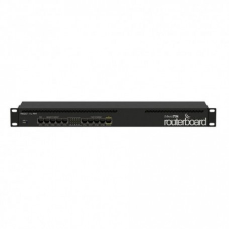 RB2011IL-RM - Routerboard SIN WIFI, 600Mhz, 64MB RAM, x5 Gb y x5 10/100. Level 4. RACK