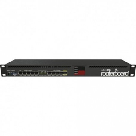 RB2011UIAS-RM - Routerboard 1 Core a 600Mhz, 128MB RAM, x5 puertos Gb, x5 10/100 y x1SFP. Level 5...