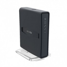 HAP AC LITE TOWER - Routerboard AC WIFI 2.4/5Ghz, 23dBm, 650 MHz, 64Mb RAM, x5 10/100, Level 4. F...