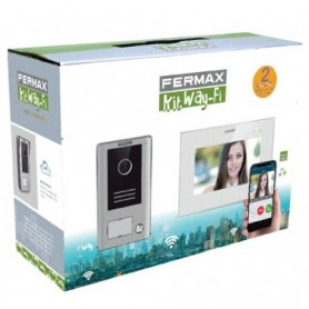 FERMAX 1431 - Kit video WAY color 1/L y monitor Wifi TFT 7