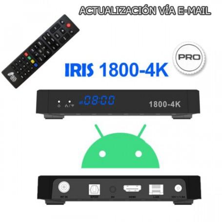 IRIS 1800-4K PRO + ACTUALIZACIÓN VÍA EMAIL